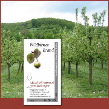 Wildbirnen Brand